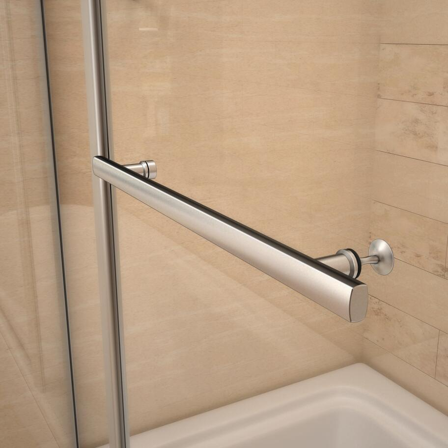 New 1000x1500mm 180 Pivot Bath Shower Glass Screen Door