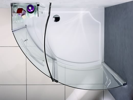Walk In Shower Enclosure Pivot Door Wet Room Cubicle