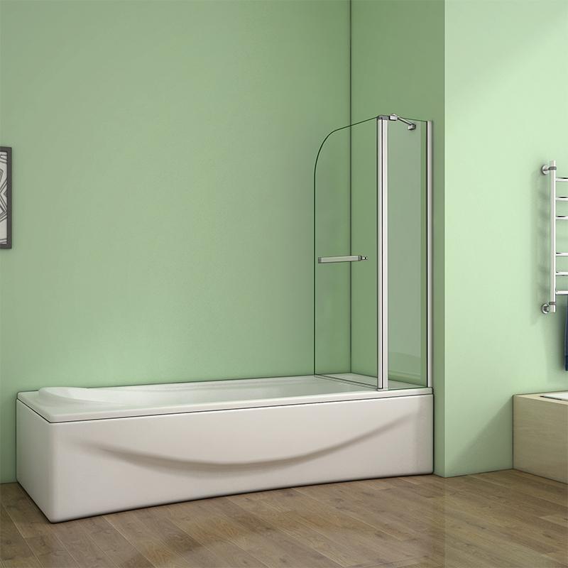 180 176 Pivot 1000x1400mm Shower Bath Screen Over 5mm Glass