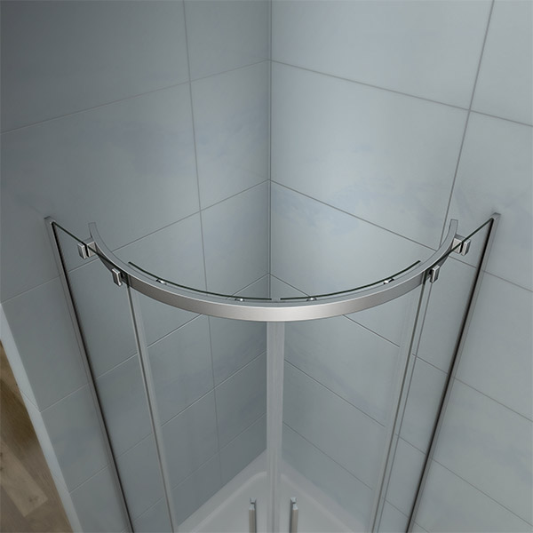 900x900mm Quadrant Shower Door Safety Glass Screen