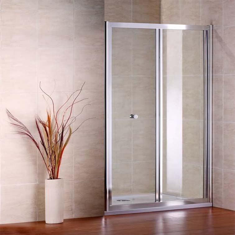 Bifold Shower Enclosure Walk In Glass Cubicle Door Screen